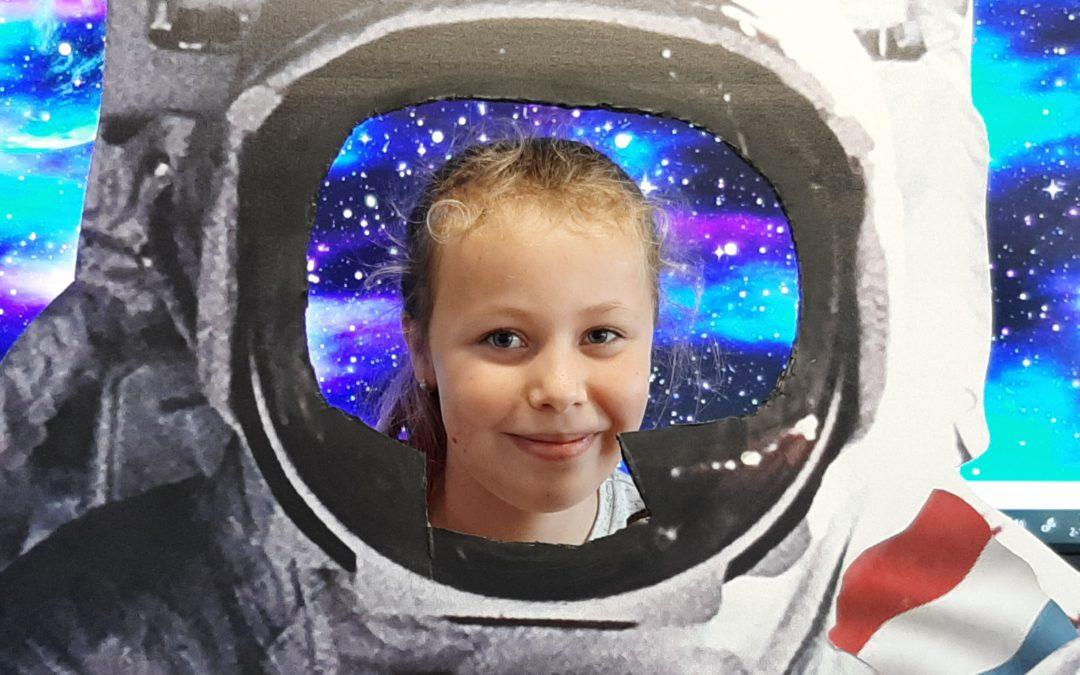 Op reis naar… de ruimte!!